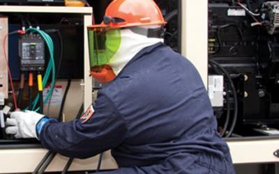 عقود صيانة مولدات الكهرباء